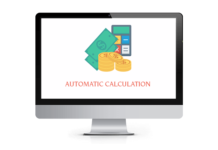 Automatic Calculations - Mentor POS